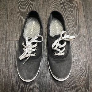 Columbia Grey Lace Up Sneakers